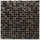 Kristalmozaiek 'Stardust' 30 x 30 x 0.8 cm