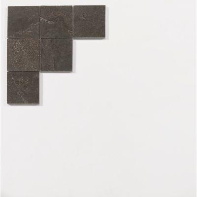 Chinesischem Hartstein 10 x 10 x 1 cm geschliffen