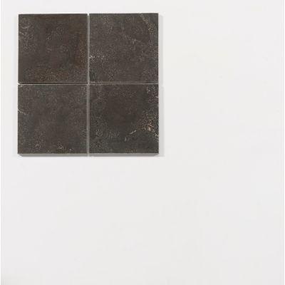 Chinesischem Hartstein 15 x 15 x 1 cm geschliffen