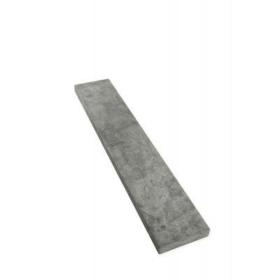 Dorpels Chinese hardsteen met watergroef 120 x 22 x 5 cm