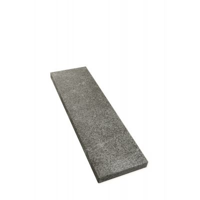Boordsteen in Basalt 100 x 30 x 5 cm