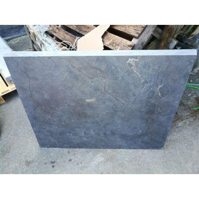 Sousbassement en pierre bleue chinoise 100 x 80 x 3 cm