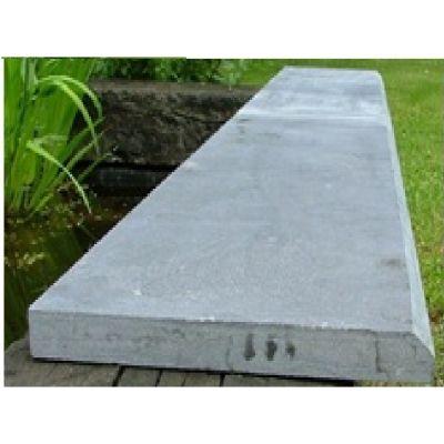 Sousbassement en pierre bleue vietnamienne 100 x 30 x 3 cm