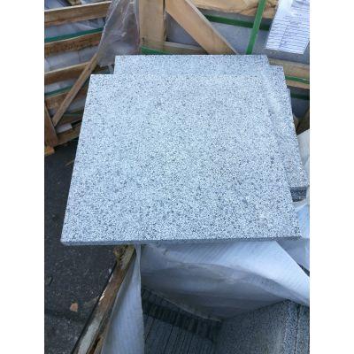 Graniet 'Pepper' 60 x 60 x 2 cm gevlamd